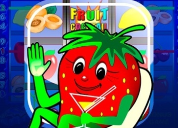 Игра fruit cocktail клубника
